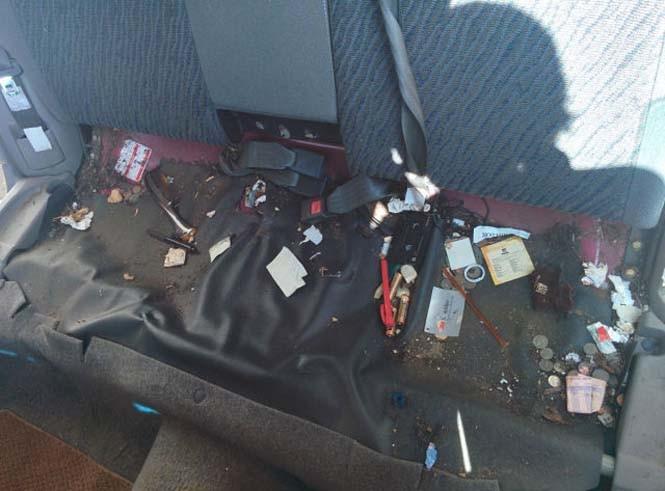 Δεν φαντάζεστε τι βρήκε κάτω από το κάθισμα μετά από 14 χρόνια... (pics)