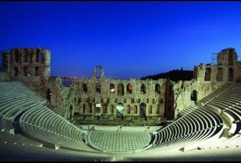 Herod Atticus Odeon ranked second in list of world's leading theatres