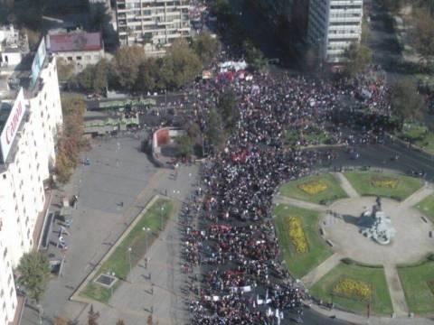 Χιλή: Φοιτητές διαδήλωσαν στο Σαντιάγο απαιτώντας αλλαγές στην παιδεία
