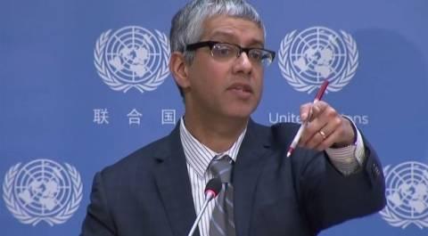 ΟΗΕ: Για ενημερωτικούς λόγους η ανάρτηση της τουρκικής ρηματικής