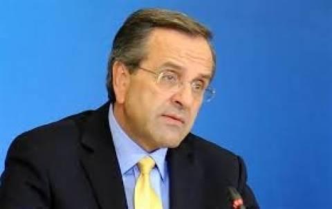 Samaras: Greece will soon return to its pre-crisis level