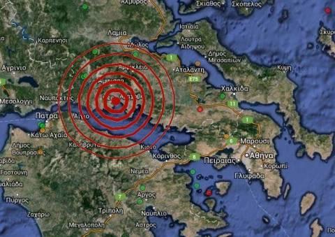 Σεισμός 4,3 Ρίχτερ νότια της Ιτέας