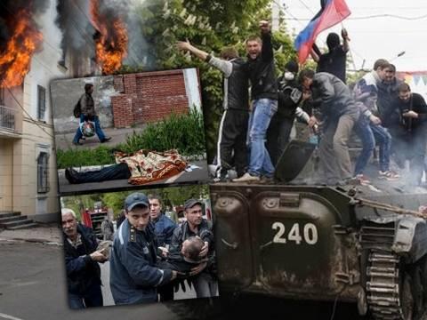 Βίαιες συγκρούσεις στη Μαριούπολη με δεκάδες νεκρούς (pics+ video)