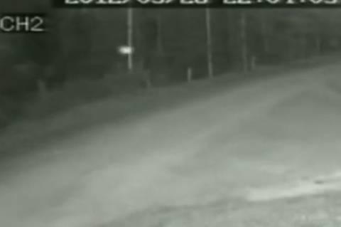 UFO σε δρόμο της Ρωσίας; (βίντεο)