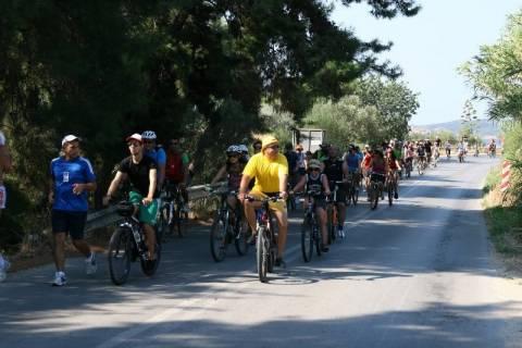 Την Κυριακή η 7η Πανελλαδική Ποδηλατοπορεία