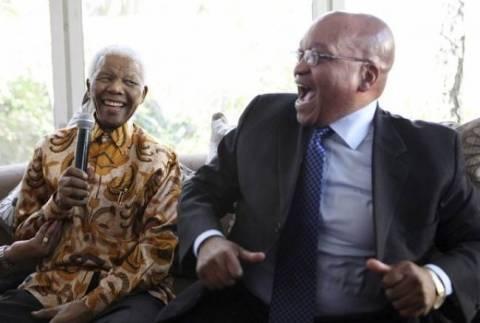 Νότια Αφρική: Ο Ζούμα αφιέρωσε τη νίκη του στις εκλογές στον Νέλσον Μαντέλα