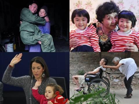 Η ημέρα της μητέρας: Ισόβια ευθύνη και άνευ όρων αγάπη (pics)
