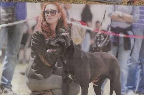 Η αδελφή της Φαίης και πάλι σε καλλιστεία σκύλων δύο ημέρες πριν τη δίκη