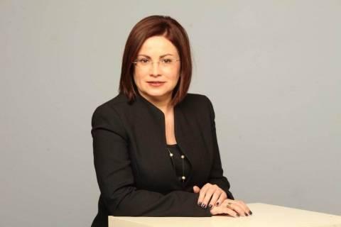 Η Μαρία Σπυράκη στα Τρίκαλα