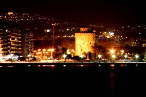 Στο σκοτάδι η Θεσσαλονίκη