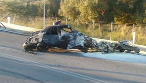 «Πάγωσε» η Λέσβος: Αποκεφαλίστηκε κατά τη διάρκεια κόντρας αυτοκινήτων