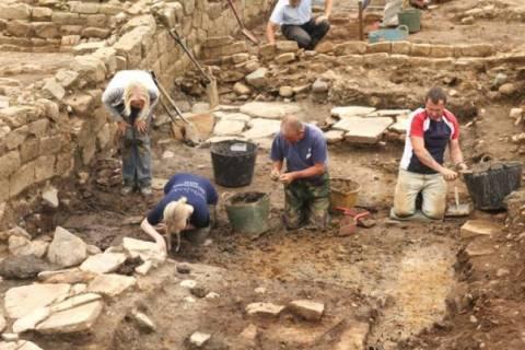 Забастовка археологов и работников министерства культуры