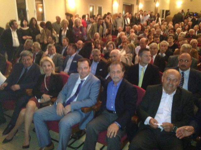 Στη κεντρική προεκλογική ομιλία του υποψήφιου Περιφερειάρχη Θεσσαλίας Κώστα Αγοραστού στη Λάρισα