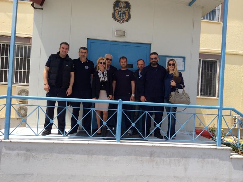 Συνάντηση με σωφρονιστικούς υπαλλήλους στις φυλακές Λάρισας