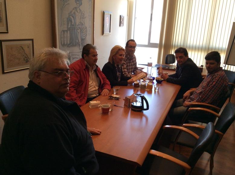 Συνάντηση με το Προεδρείο του Εμπορικού Συλλόγου Βόλου