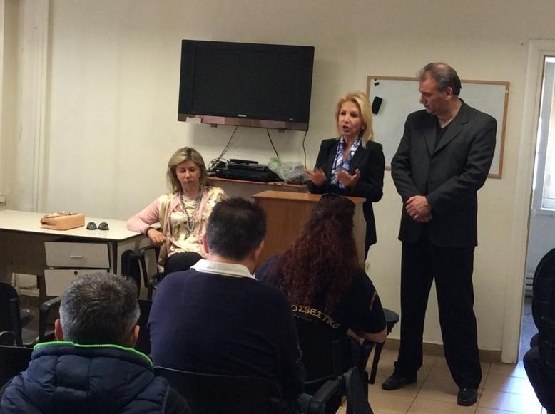 Ευρωεκλογές 2014: Περιοδεία της Ι.Καλαντζάκου-Τσατσαρώνη σε Λάρισα και Βόλο