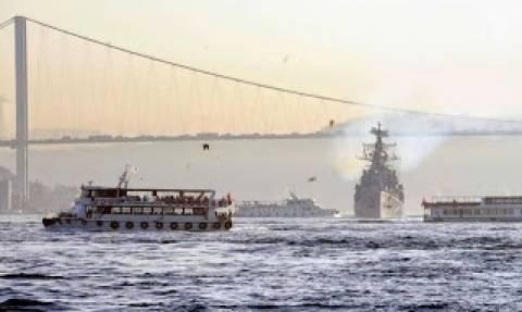 Ρωσικά πολεμικά πέρασαν τα Δαρδανέλια με πορεία το Αιγαίο