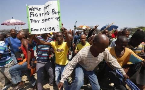 Νότια Αφρική: Σκότωσαν τρεις μεταλλωρύχους που δεν απεργούσαν