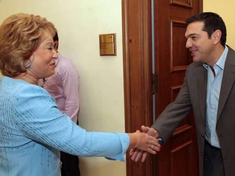 Τσίπρας: Ελλάδα και Ρωσία συνδέονται με παράδοση κοινών αγώνων