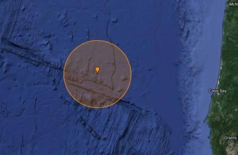 Σεισμός 5,3R στο Όρεγκον και προειδοποίηση για τσουνάμι