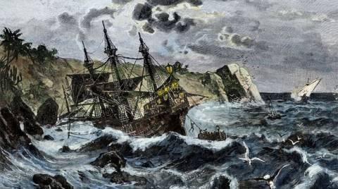 Φωτογραφία - ντοκουμέντο: Είναι αυτό το πλοίο του Χριστόφορου Κολόμβου;