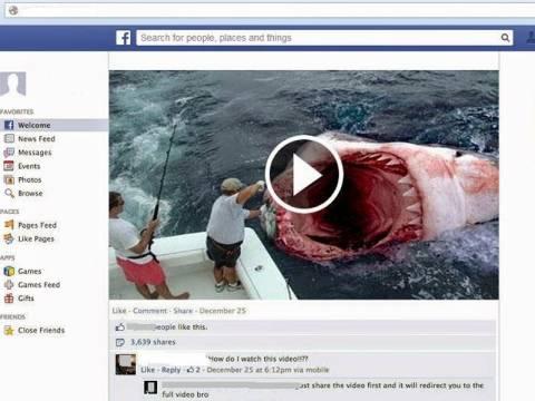 Η αστυνομία προειδοποιεί για νέο επικίνδυνο ιό στο facebook (pics)