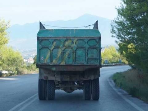 Κατερίνη: Σύλληψη Βούλγαρου φορτηγατζή με πλαστές πινακίδες