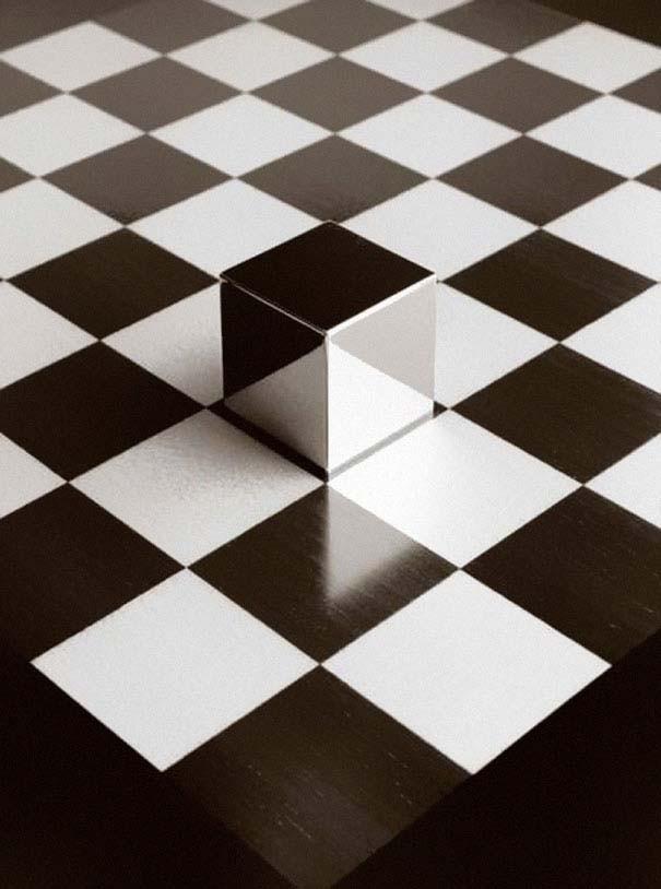 Απίστευτες οφθαλμαπάτες σε άσπρο και μαύρο (pics)