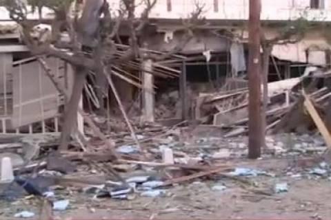 Νέα Ερυθραία: Εικόνες από το εστιατόριο που «κατεδαφίστηκε» από έκρηξη