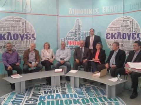 Εκλογές 2014: Τζιτζικώστας- Ιωαννίδης τετ α τετ στο debate της TV100