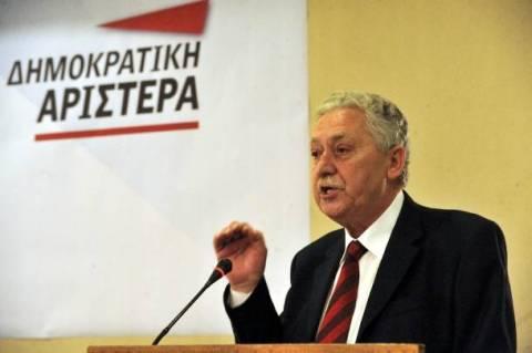 Κουβέλης: Δεν πρόκειται να συνεργαστούμε με τον ΣΥΡΙΖΑ