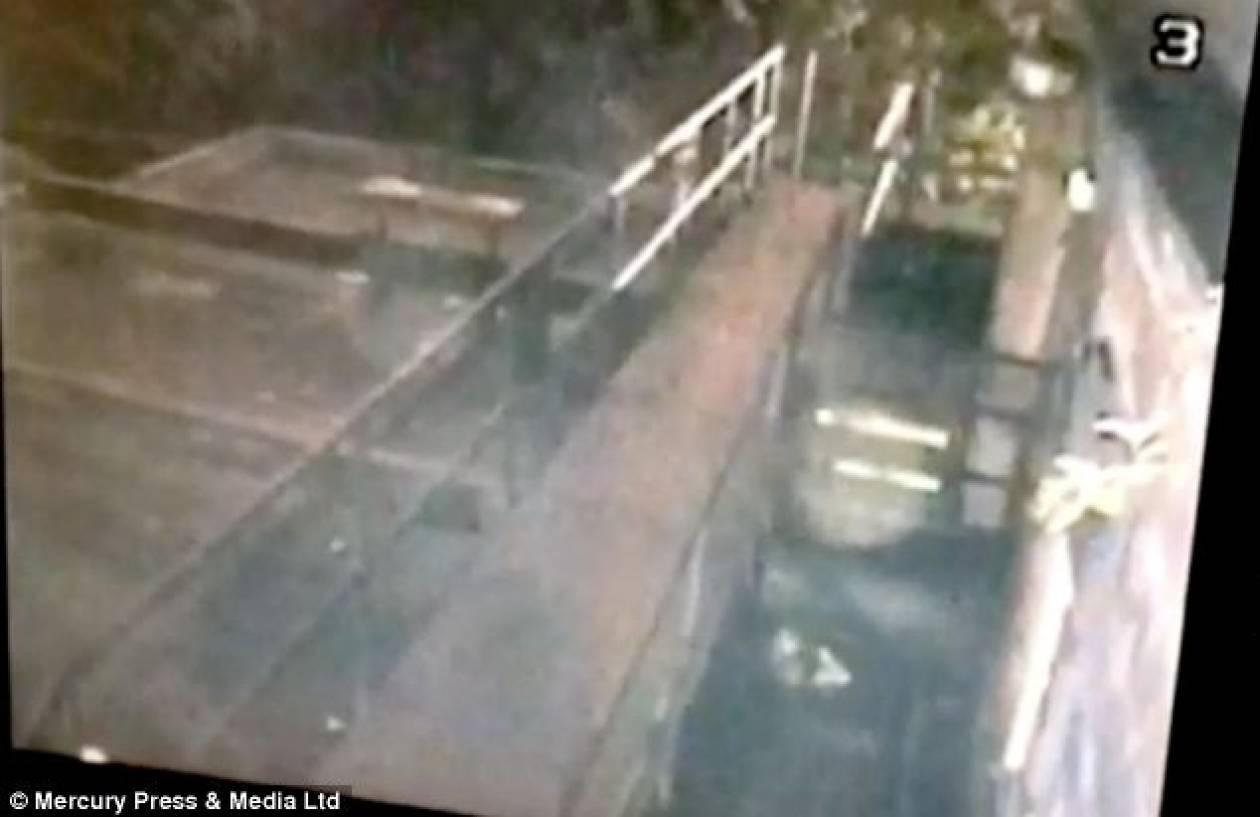 Ανατριχιαστικό βίντεο: Φάντασμα... βολτάρει σε εγκαταλελειμμένη παμπ!
