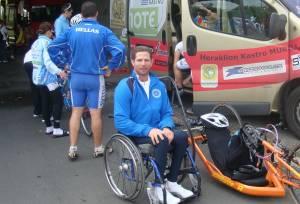 Κρήτη: Μάχη για τη ζωή του δίνει ο παραολυμπιονίκης Γιώργος Σηφάκης