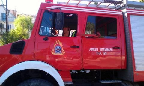 Πολύγυρος: Πυρκαγιά χθες στην περιοχή Κελλί