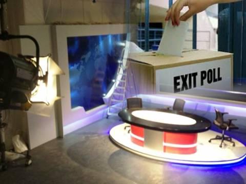 Exit Poll: Τα πρώτα αποτελέσματα των καναλιών