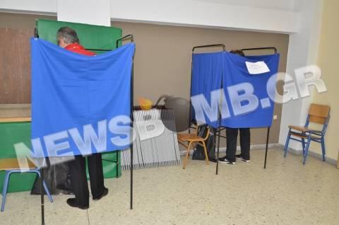 Εκλογές 2014-ΦΩΤΟΡΕΠΟΡΤΑΖ: Ομαλά διεξάγεται η εκλογική διαδικασία
