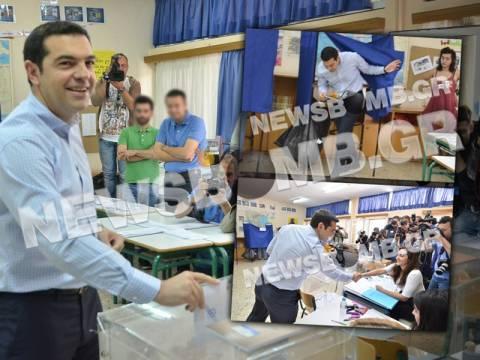 Εκλογές 2014 - Τσίπρας: «Πρώτο βήμα για αλλαγή ηγεσίας...» (vid&pics)