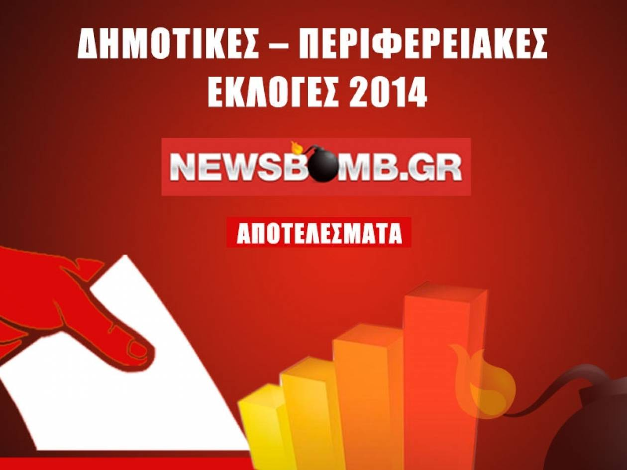 Εκλογές 2014: Τα αποτελέσματα στην Περιφέρεια Δυτικής Ελλάδας στο 18,05%