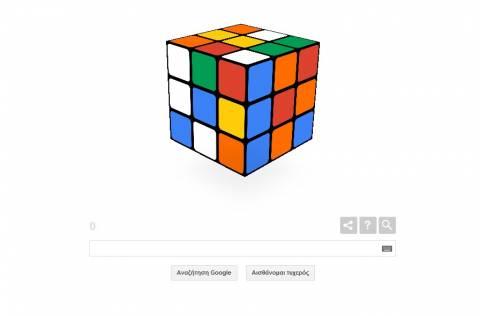 Η ιστορία του Κύβου του Ρούμπικ: Το παιχνίδι της Google για τον Κύβο του Ρούμπικ