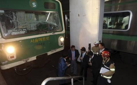 Σεούλ: Έκρηξη σε σταθμό του μετρό
