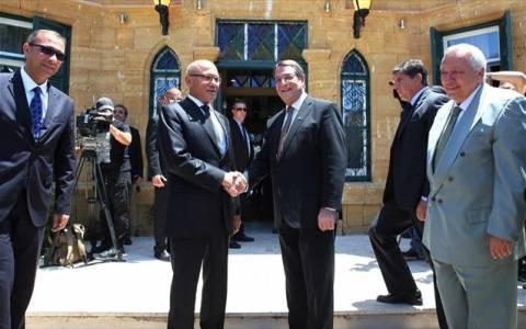 Συνάντηση Ν. Αναστασιάδη και Μ. Ταλάτ για το Κυπριακό