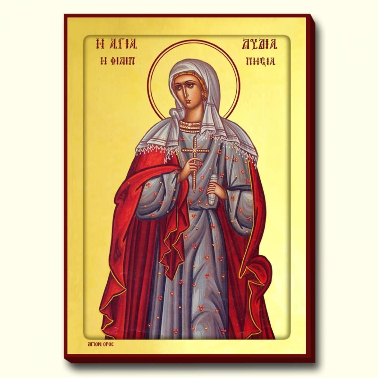 Αγία Λυδία: Η πρώτη Ευρωπαία Χριστιανή
