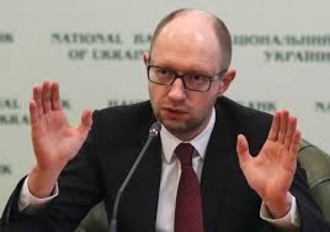 Γιατσενιούκ: Το Κίεβο δεν θα προπληρώσει το φυσικό αέριο