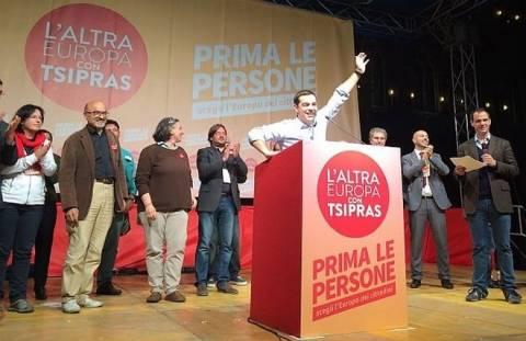 Εκλογές 2014: Ο Τσίπρας τραγουδά το «Bella Ciao» (vid)