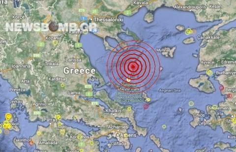 Σεισμός 4,5 Ρίχτερ στις Βόρειες Σποράδες