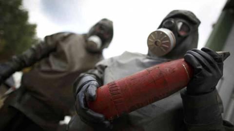 Συρία: Ξεκίνησε η μεταφορά των τελευταίων αποθεμάτων του χημικού οπλοστασίου