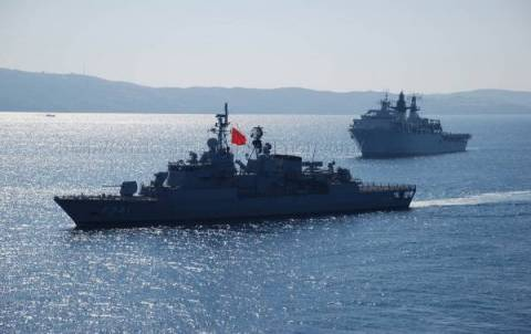 Παραβιάσεις από τουρκικά πολεμικά πλοία