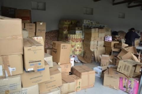 Πιερία: Πάνω από 20 τόνοι για τους πλημμυροπαθείς Σερβίας-Βοσνίας!