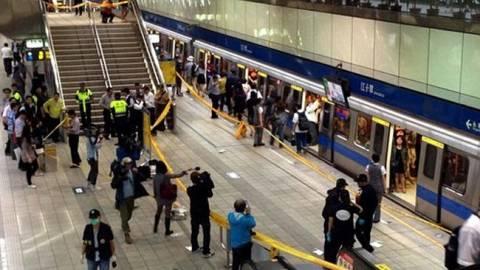Τέσσερις νεκροί από την επίθεση φοιτητή στο μετρό