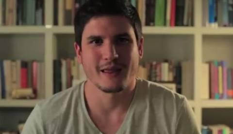 Ευρωεκλογές 2014: Νέο βίντεο του Θεοδωράκη με την «πρώτη φορά» ενός άνδρα!
